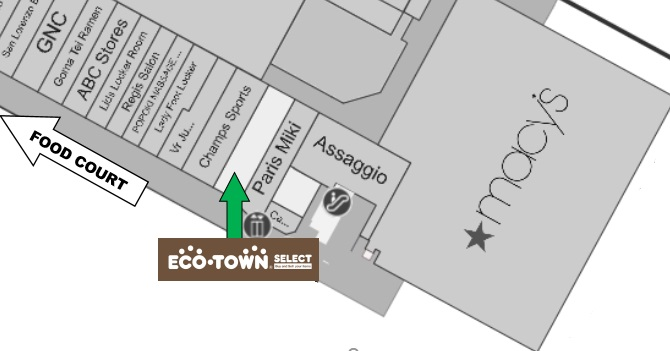 Eco Town Hawaii Map